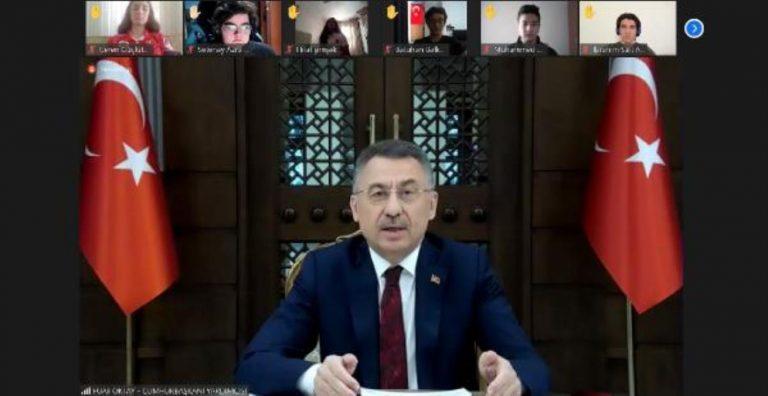 Cumhurbaşkanı Yardımcısı Oktay: Mazlumların umudu, sessizlerin sesi olacağız