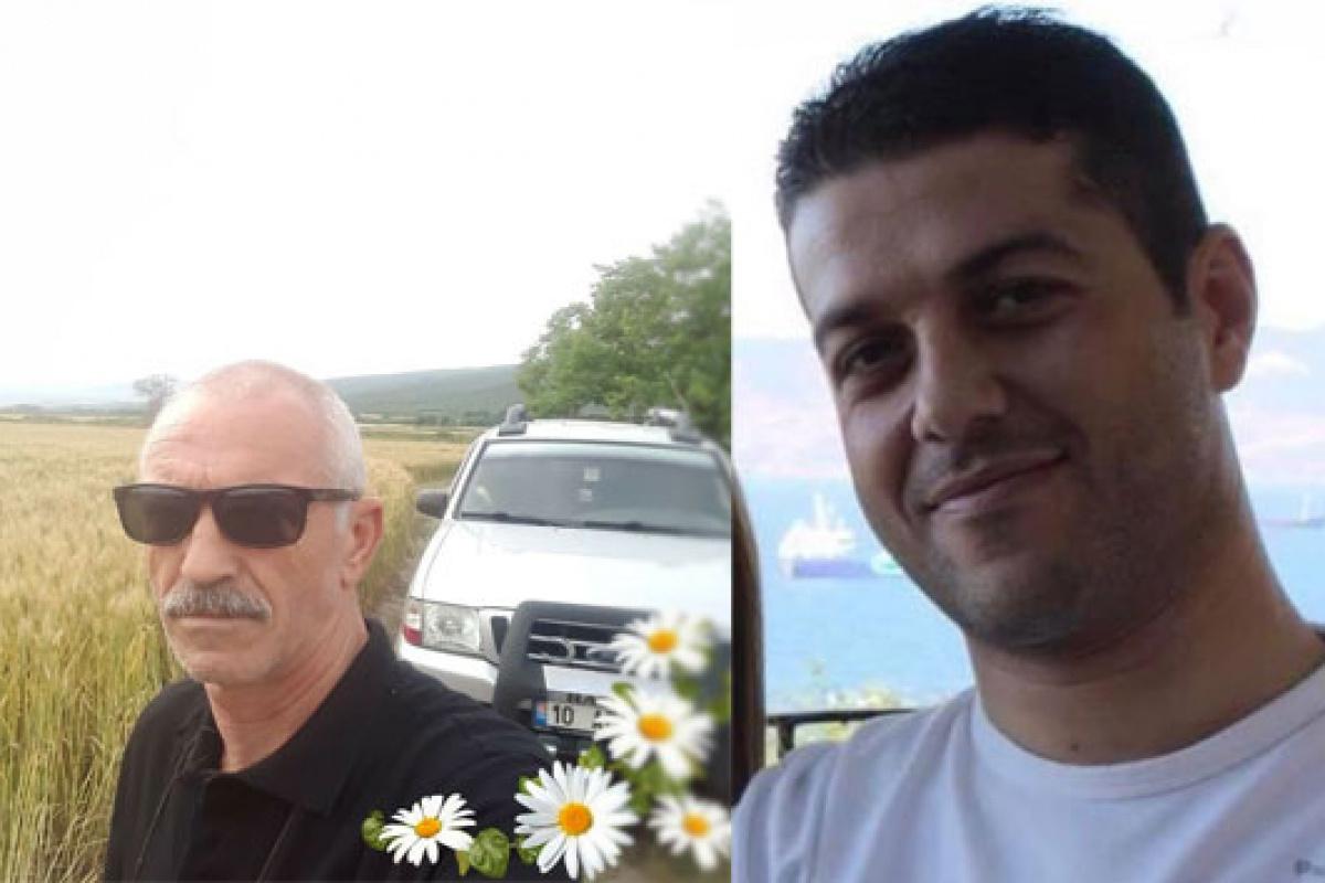 Baba oğul 1 hafta arayla kalp krizinden vefat etti