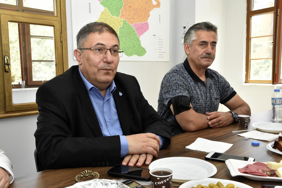 DEVA Partisi Ekonomi ve Finans Politikaları Başkanı Çanakçı Gümüşhane de partisinin hedeflerini anlattı
