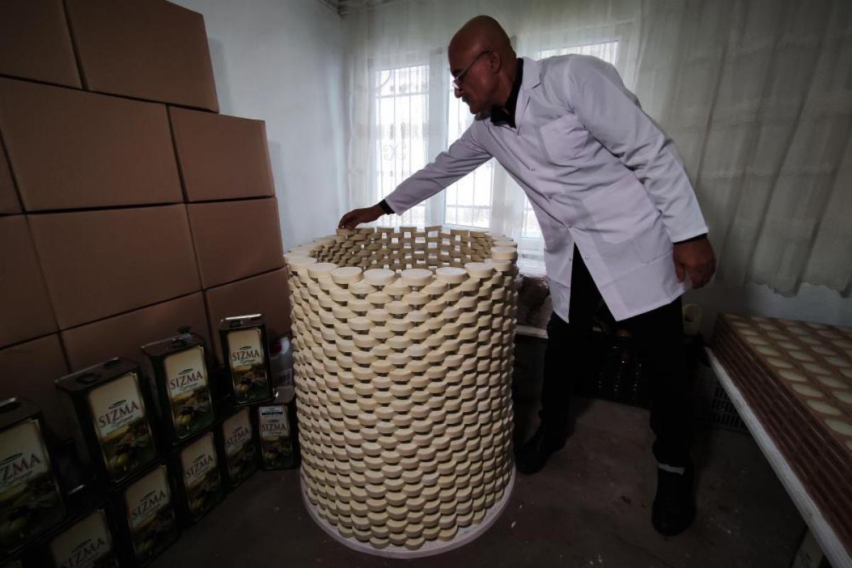 Evinde ürettiği sabunları Almanya'ya ihraç ediyor