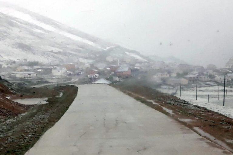 Gümüşhane ye Haziran ayında kar yağdı