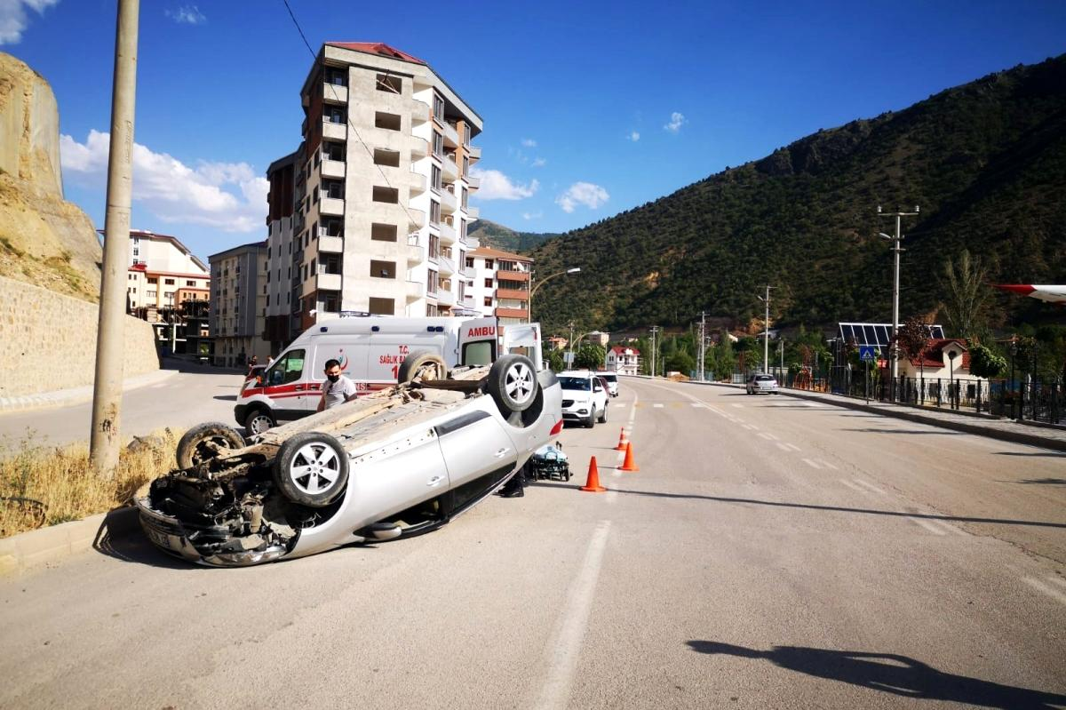Son dakika haberi | Gümüşhane de trafik kazası: 1 yaralı
