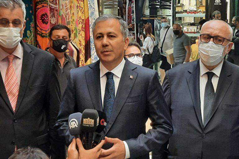 Vali Yerlikaya: 'Aşılamada İstanbul'da 6 milyon 800 bin rakamına ulaşmış durumdayız'