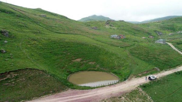 Dipsiz Göl,  çamur göl  oldu