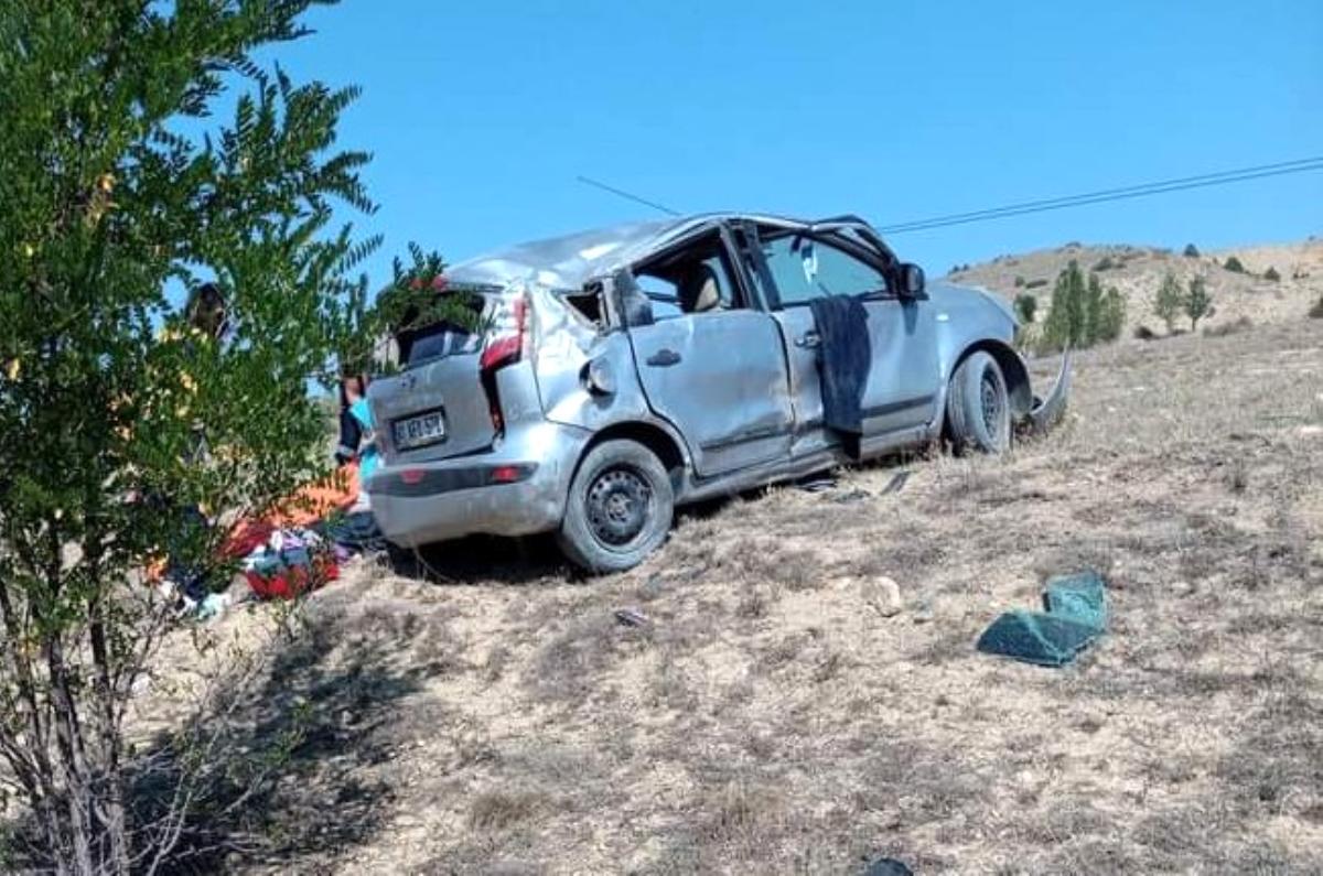 Gümüşhane de trafik kazası: 1 ölü, 4 yaralı