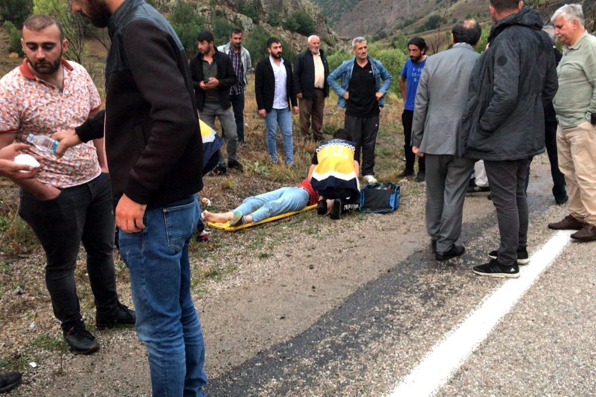 Son dakika haberi | Gümüşhane de 2 ayrı kazada 4 kişi yaralandı