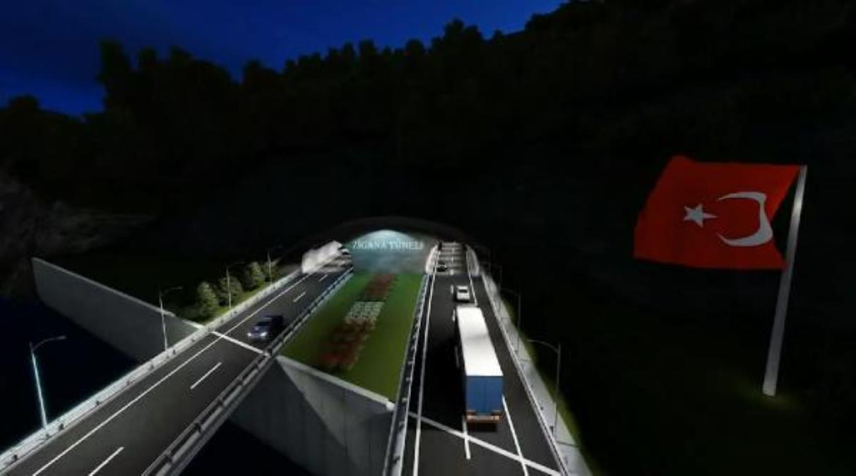 Zigana Tüneli nde sona yaklaşıldı
